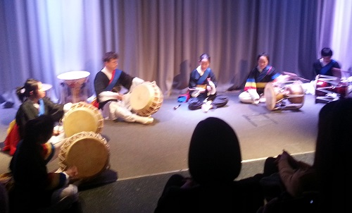 Some of the SOAS Korean Drumming Society in action