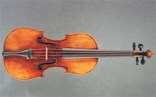 1696 Antonio Stradivarius violin