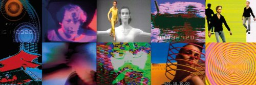 Nam June Paik video stills