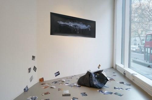 Taehyung Kim: Black recycled garbage bag (2012)