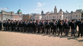 Veterans in Horseguards - photo © the Korean Cultural Centre UK