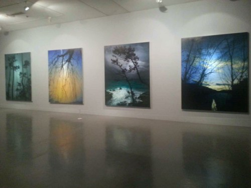 Works by Kong Sung-hun in the Artist of the Year show