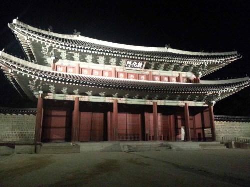 Gyeonghuigung at night