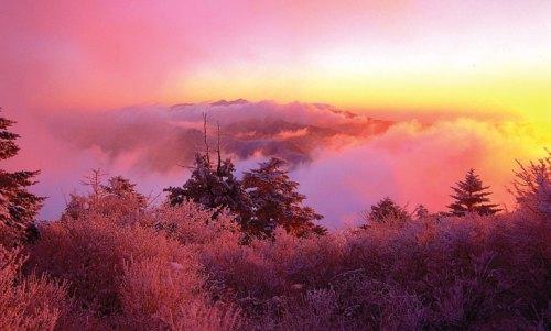 Clouds on Banyabong peak