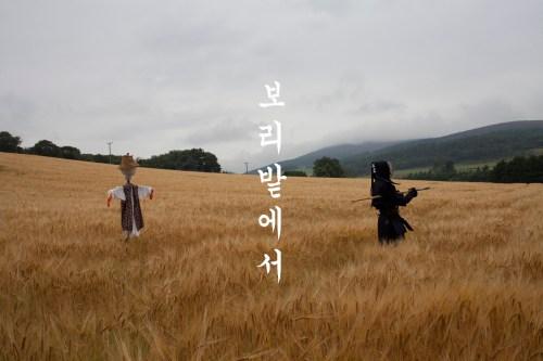 Jungho Oak: In the barley field (2013)