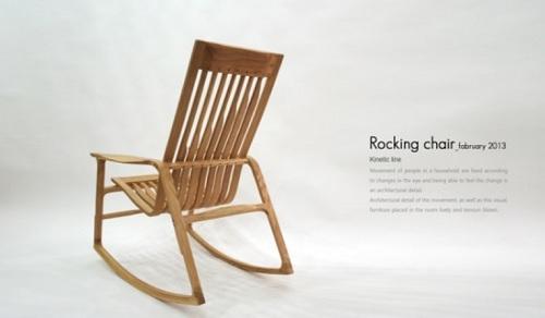 Rocking chair from artiZAC