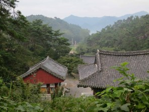 A view of the valley from behind Unjusa temple