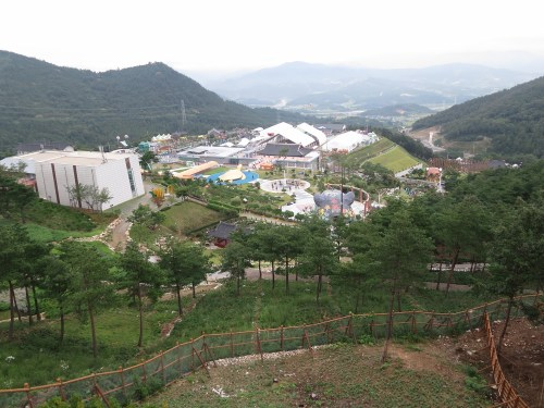 A view of the Sancheong Expo campus