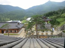 Views from the top floor of the Donguijeon