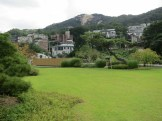 The modern garden on the roof of Seoul Museum