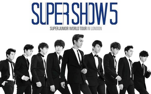 Featured image for post: Event news: Super Junior's Super Show 5