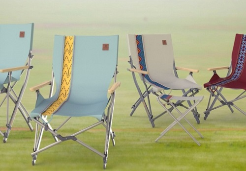Camping chairs from IN R&D Center