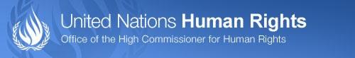 UN Human Rights Commission header