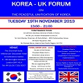 Thumbnail for post: Conference report: ROK-UK Forum on Peaceful Unification of Korea and Human Rights in North Korea