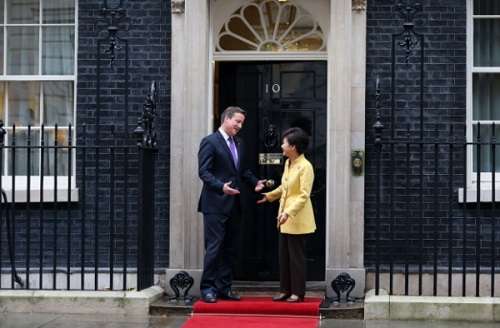 In Downing Street