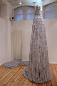 Jukhee Kwon: The Wedding Dress, 2013. Paper (2 books), 350 x 200 cm.