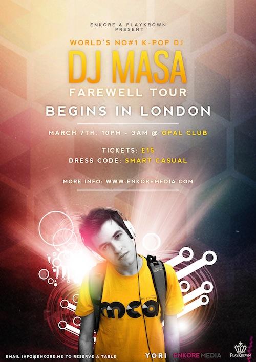 DJ MASA Poster