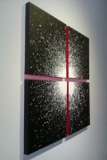 Jeongmin Moon, Cross, 1020x 1020mm, Acrylic on canvas, 2013