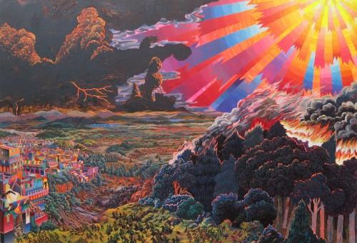 Work by Ahn Doo-jin at Lee Hwaik Gallery