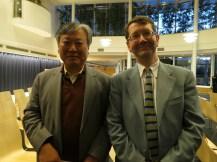 with Yi Mun-yol