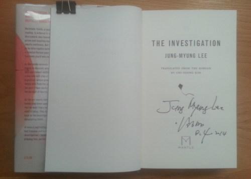 Investigation signed