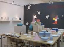 Contemporary ceramics at Gallery LVS (photo: LKL)