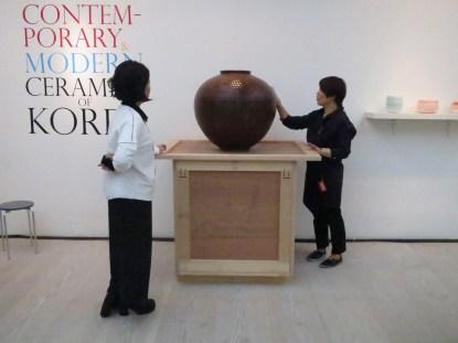 Large Tianmu Jar. Eun Gu Lee (photo: LKL)