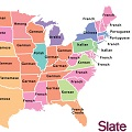 Thumbnail for post: Koreans in America: the Slate map of the most popular language in your State