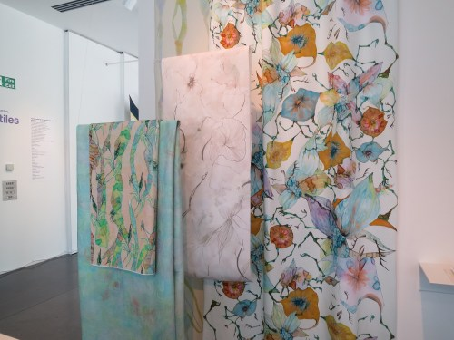 Printed fabrics by Hyoi Kim