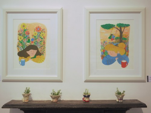 Work by Kim Ji-eun at Mokspace, 30 August 2014