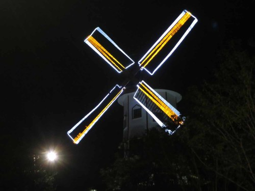 No-one could explain what this windmill was doing at the Expo