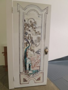 Jewyo Rhii: Two Doors (2012-2013). At Wilkinson Gallery, 13 September 2014.