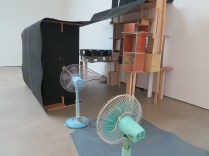Jewyo Rhii: Fan Theatre (2013-2013). At Wilkinson Gallery, 13 September 2014.
