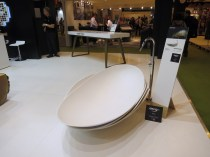 Armadillo-inspired bath from Samsung Chemical Europe