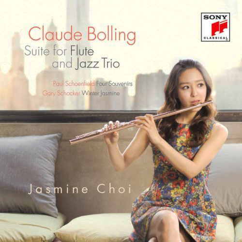 Jasmine Choi - cover for Claude Bolling CD