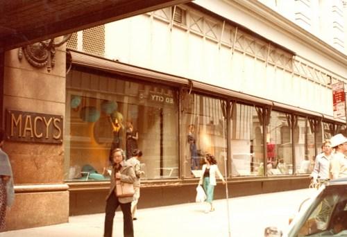 Nora Noh's window display in Macy's