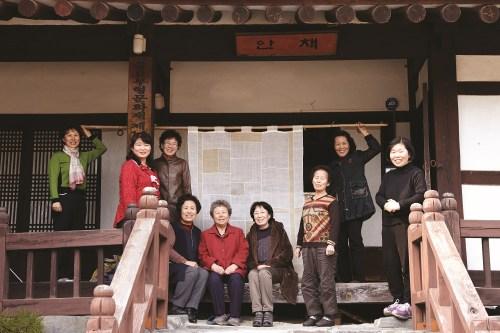 9 artisans for Hansan Ramie Patchwork