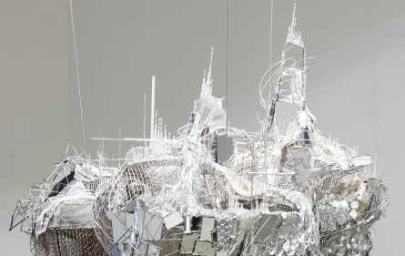 Lee Bul, After Bruno Taut (Devotion to Drift), 2013 (detail), mixed media. Courtesy Studio Lee Bul, Art Fund, The New Art Gallery Walsall, Birmingham Museums Trust and Ikon