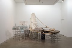 Lee Bul, Mon grand récit Weep into stones . . ., 2005. Mixed media, Courtesy the artist and Ikon