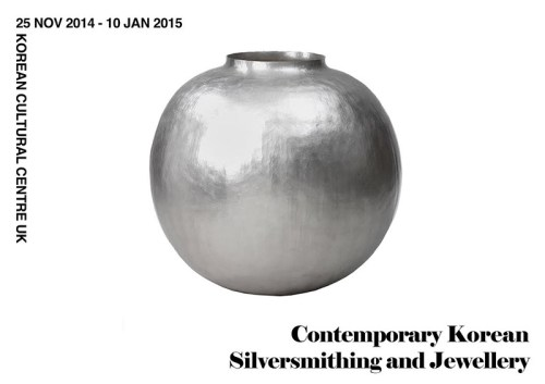 Silver exhibition poster