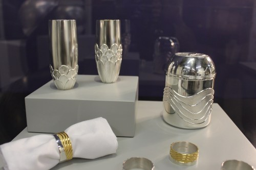 Kyosun Jung's silver vases