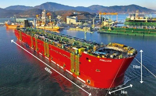 Post image for Daewoo, Hyundai and Samsung battle to build the biggest ships