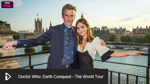 Link to Doctor Who World Tour on BBC iPlayer