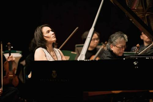 Ksenia Kogan with Kim Min and the Korean Chamber Orchestra