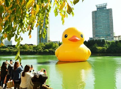 Florentijn Hofman's Rubber Duck