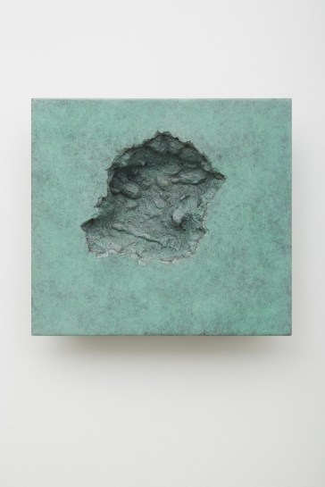 Hur Shan: Crack on the Wall #03-2 (Buddha), 2015