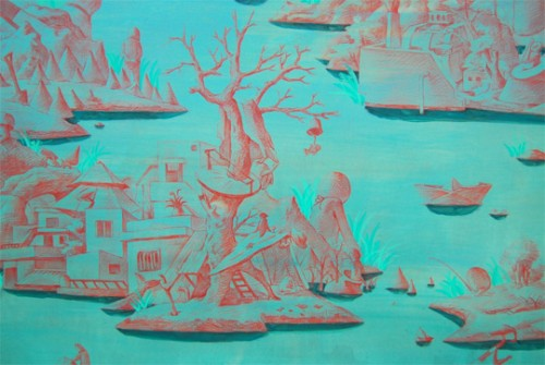 Featured image for post: Hyunjeong Lim: The Figures by the Sea, at James Freeman Gallery