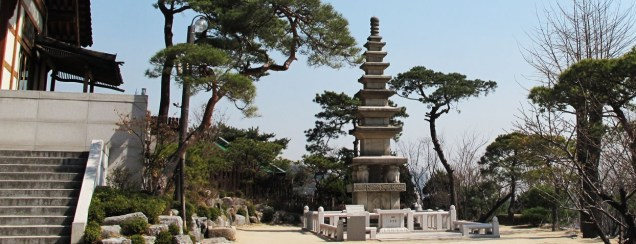 The stone pagoda at Gilsanga (photo credit: www.kilsangsa.info)
