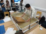 The first scoop is made towards the paper-maker