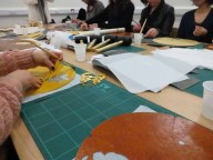 Busy at work making zodiac animals